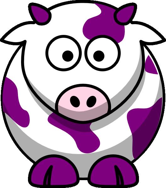 Purple Cow Clip Art at Clker.com.