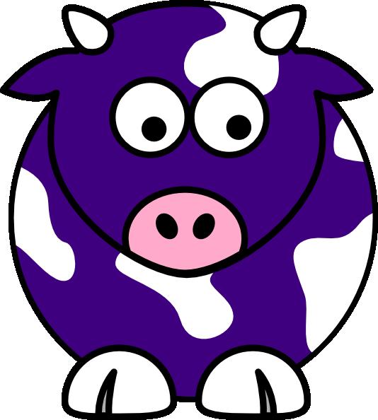 Blue Cow Clip Art at Clker.com.