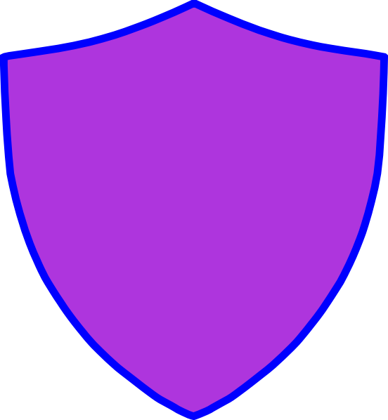 New Blue Crest Shield Clip Art at Clker.com.