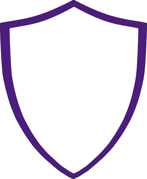 Violet Crest Clip Art at Clker.com.