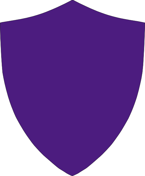 Violet Crest Simple No Border Clip Art at Clker.com.