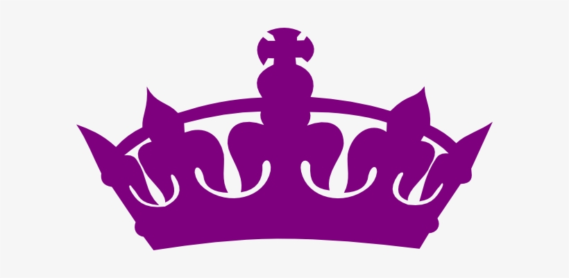 Purple Crown Clipart.