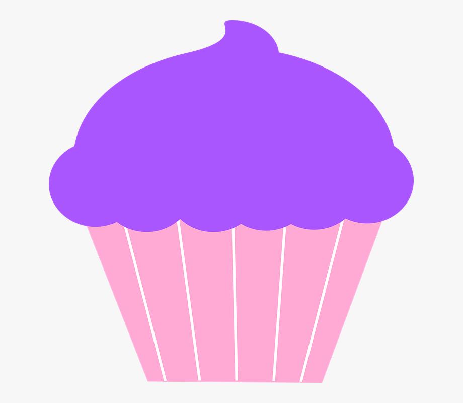 Desserts Clipart Purple.