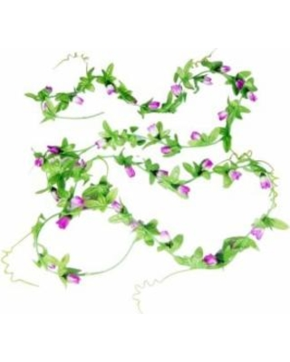 New Year, New Deal on Artificial Purple Flower Bud Hanging Vine 2.