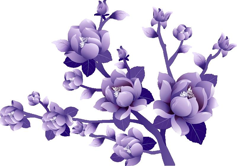 Free Purple Flower Transparent, Download Free Clip Art, Free.