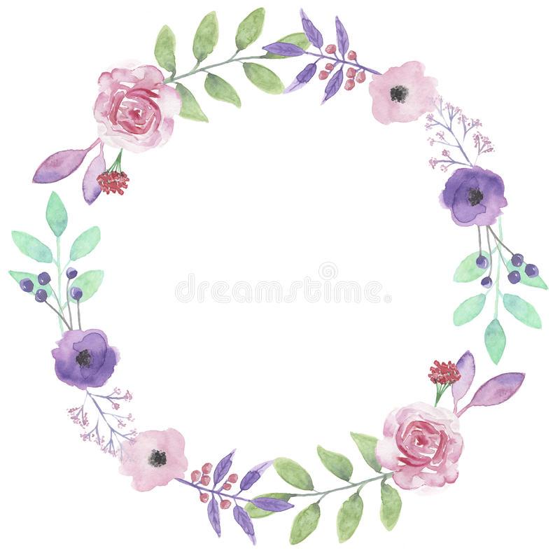 413 Flower Wreath free clipart.