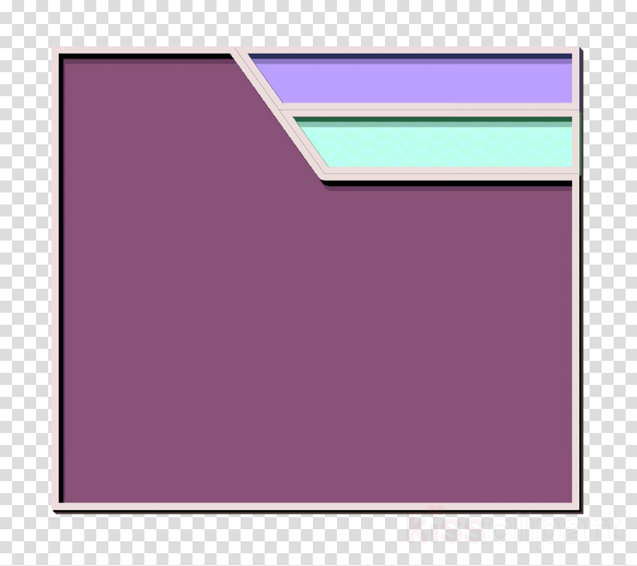 Folder icon Essential icon clipart.