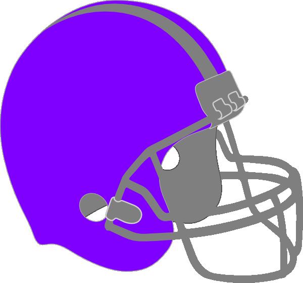 Purple Football Helmet Clip Art at Clker.com.