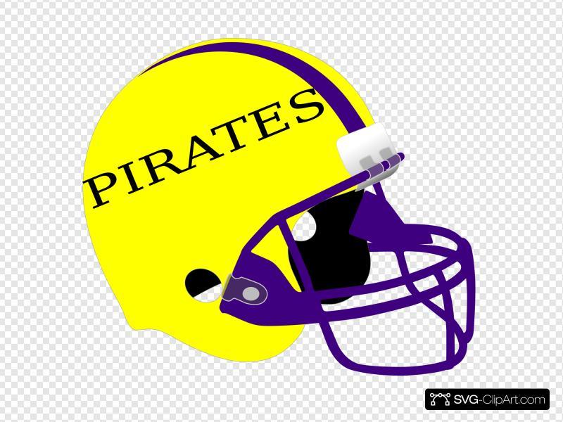Football Helmet Clip art, Icon and SVG.