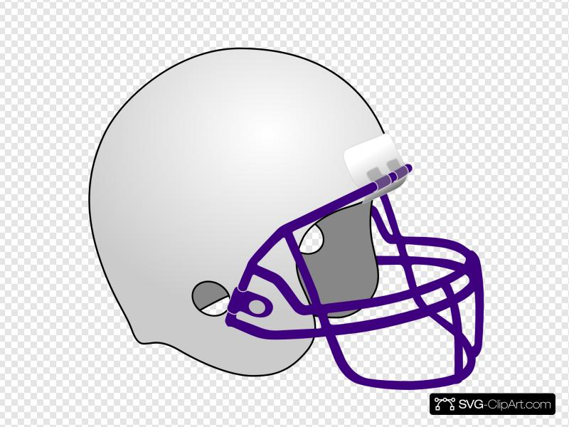 Football Helmet 2 Clip art, Icon and SVG.