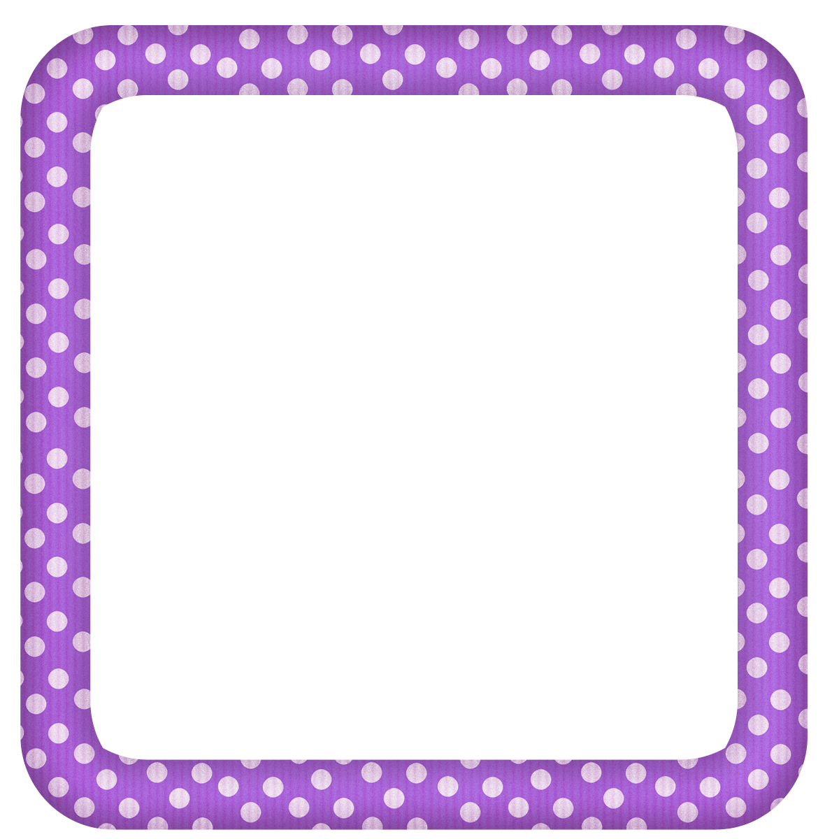 Purple Clipart Frame.