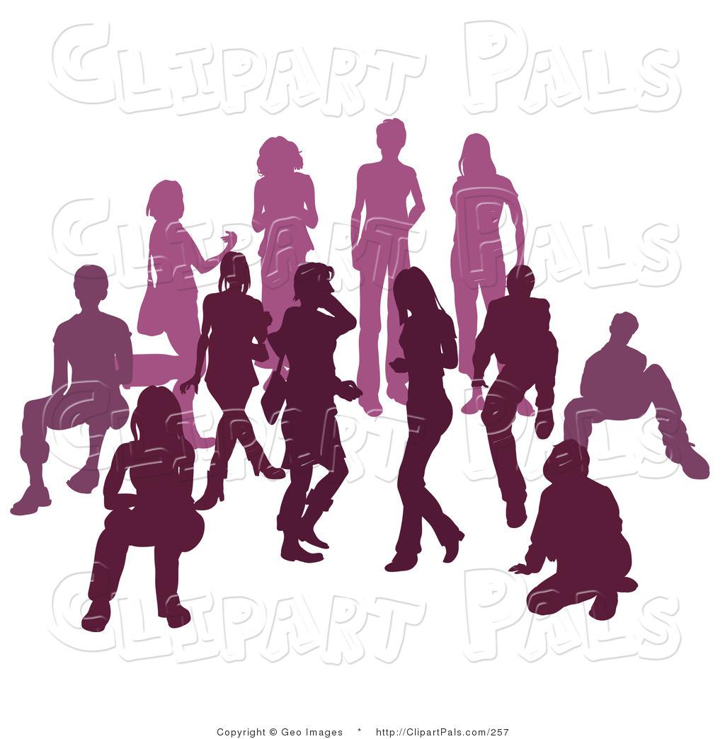 Royalty Free Purple Stock Friend Designs.