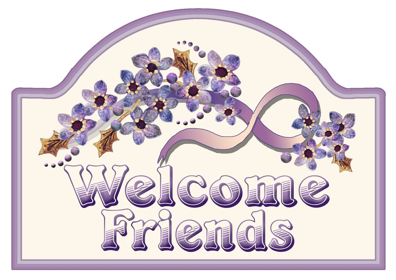 Watch more like Welcome Friends Clip Art.
