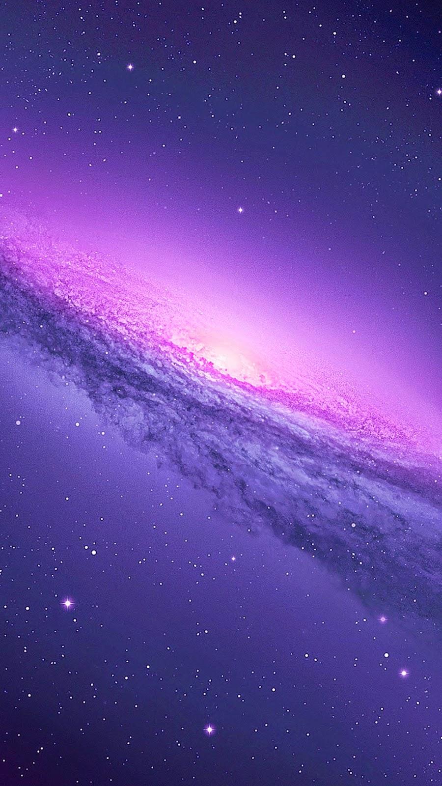 Purple Galaxy Iphone Clipart.