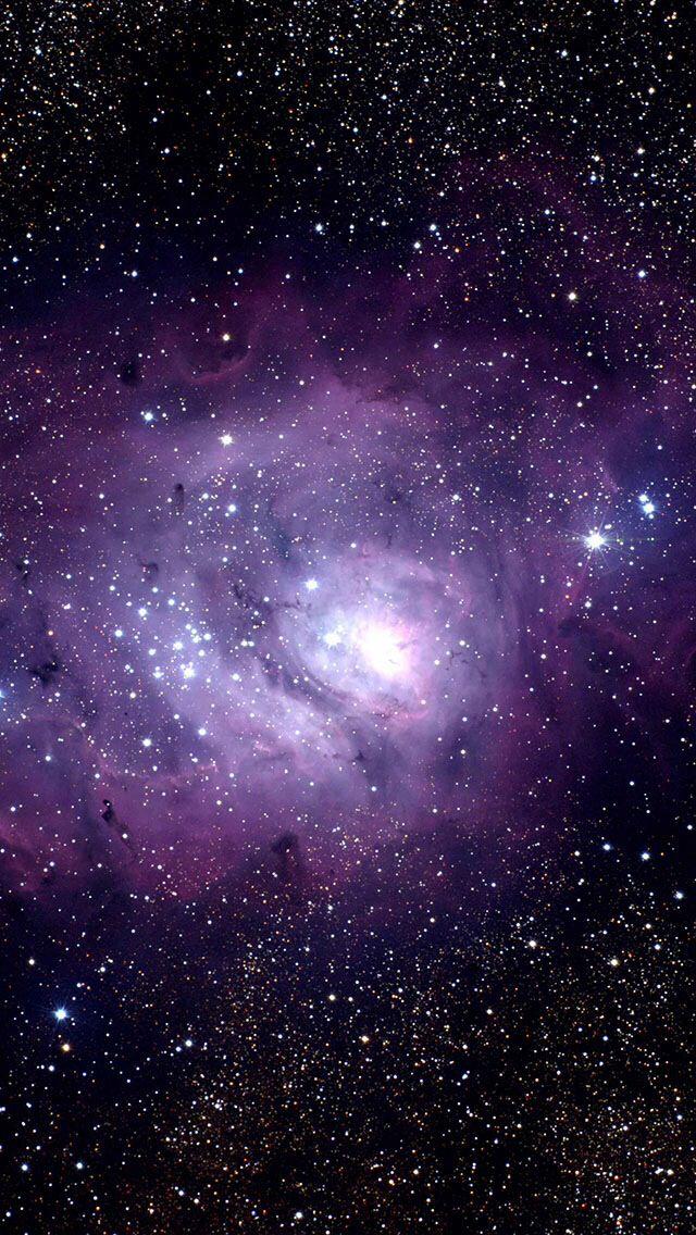 Purple galaxy clipart iphone.