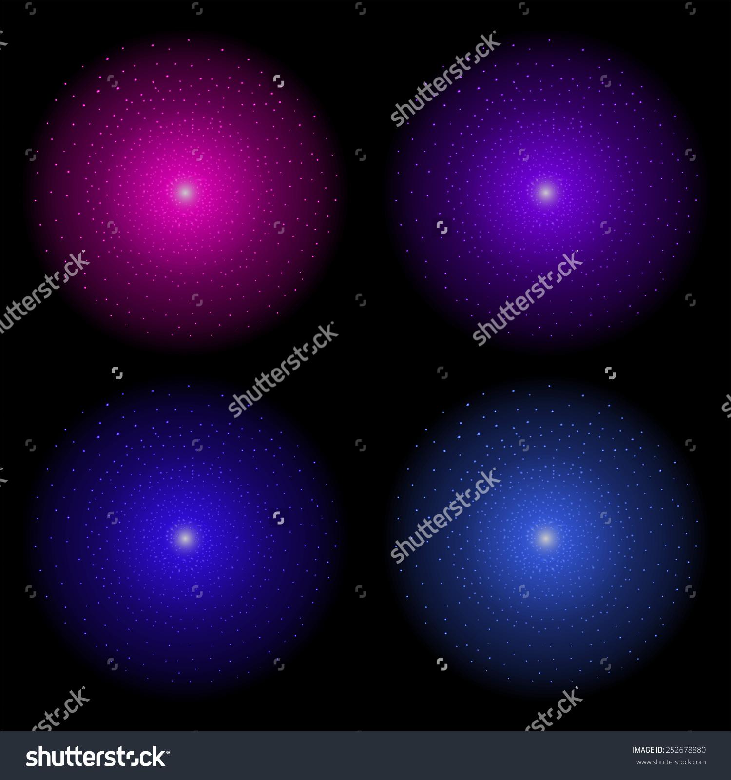Galaxy Clipart Purple.