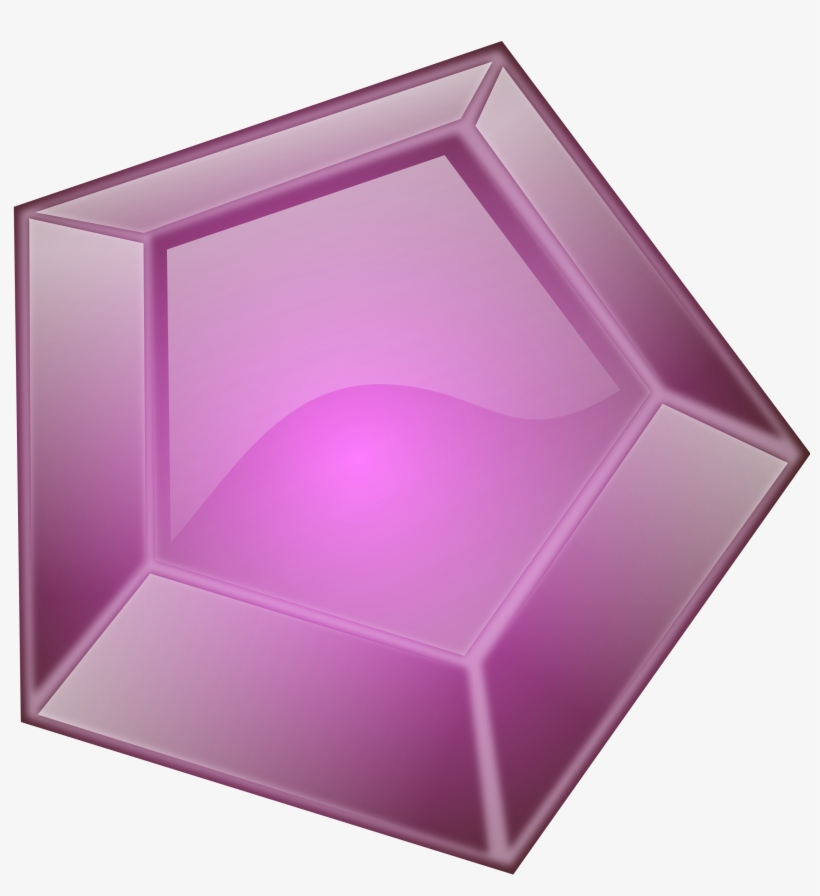 Gems Clipart Purple Diamond Pencil And In Color Gems.