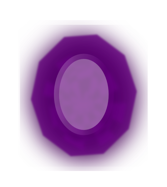 Purple Gem Clip Art at Clker.com.