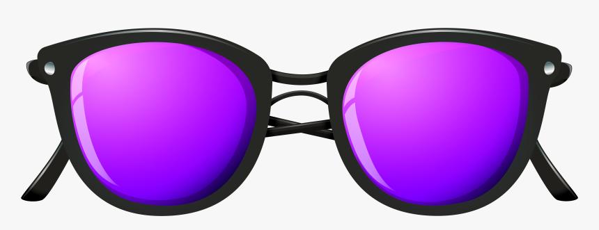 Glasses Clipart Purple.