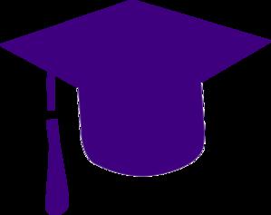 Purple Grad Cap Clip Art at Clker.com.