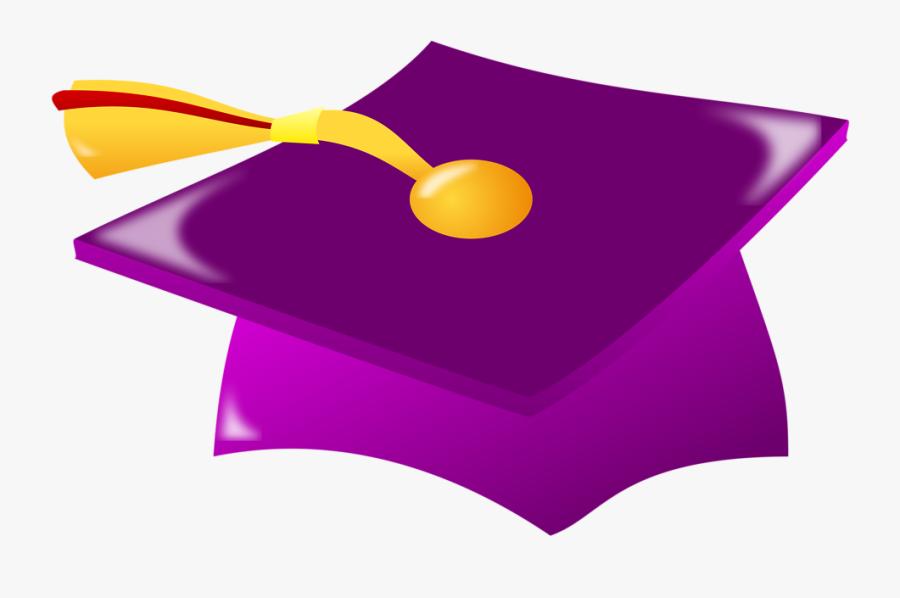 Graduation Hat Border Clip Art.
