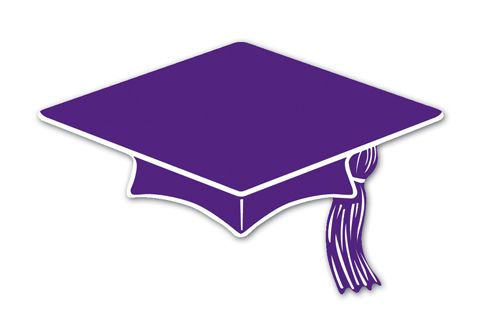 graduation purple.
