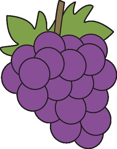 purple grape clipart.
