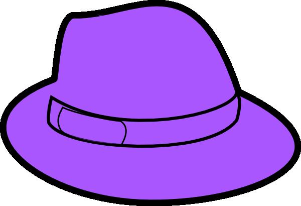Purple Hat Clip Art at Clker.com.
