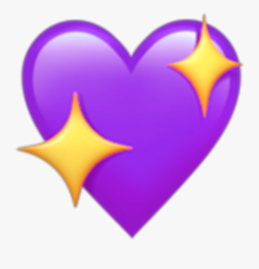 Transparent Purple Heart Clipart.