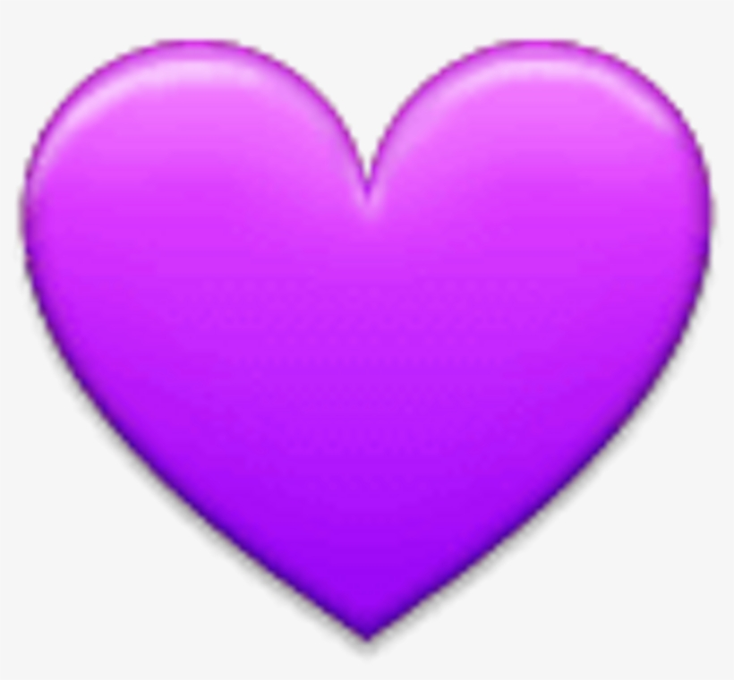 Purple Heart On Apple Ios.