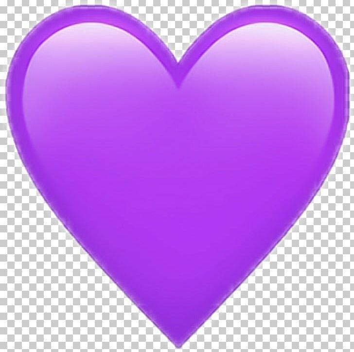 Purple Heart Emoji Sticker Love PNG, Clipart, Color, Emoji.