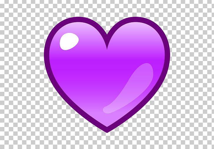 Emoji Emoticon Purple Heart SMS PNG, Clipart, Art Emoji.
