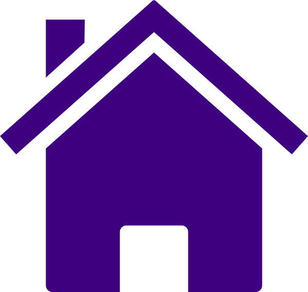 Simple Purple House Clip Art at Clker.com.
