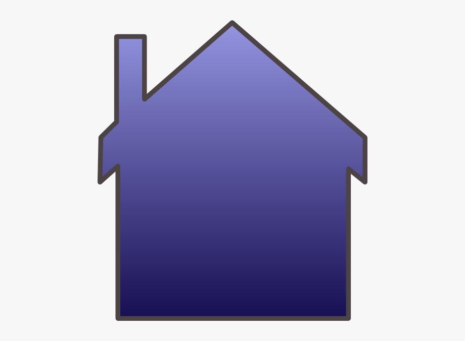 Blue House Svg Clip Arts 534 X 596 Px.