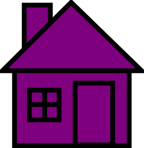 Purplehouse Clip Art at Clker.com.