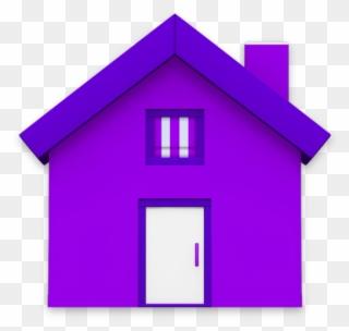 Birdhouse Clipart Purple Clipart Royalty Free.