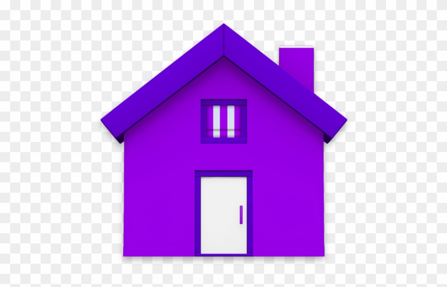 Birdhouse Clipart Purple Clipart Royalty Free.