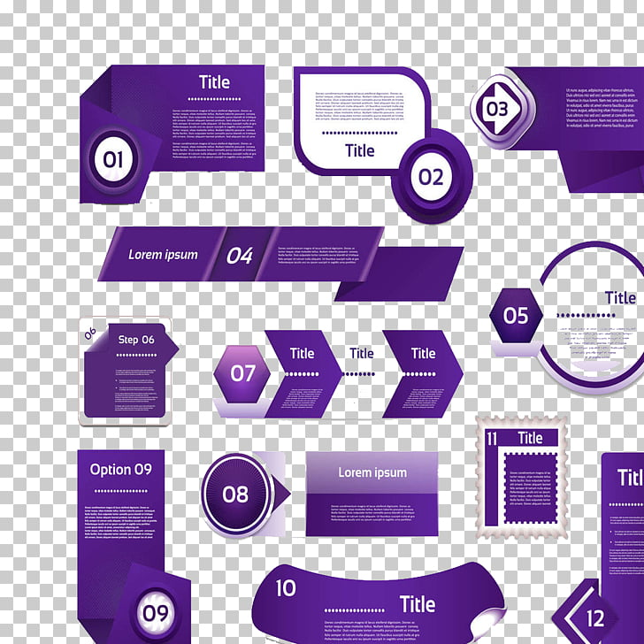 Purple Icon, ppt templates creative, purple title word text.