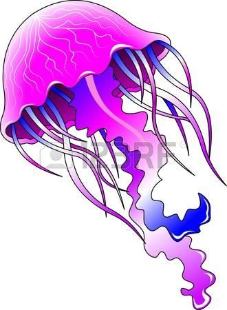 purple jellyfish clipart - Clipground - 27.5KB