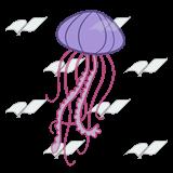 Jellyfish Clipart 1198.