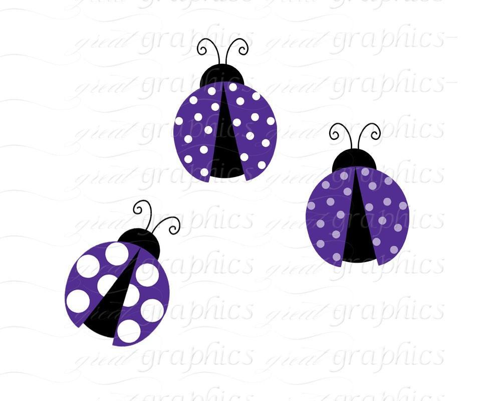 lavender ladybug clip art, Clip Art, digital clip art digital backgrounds  ladybug clipart polka dots, lavender lady bugs.