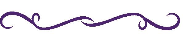 Purple Line Clipart.