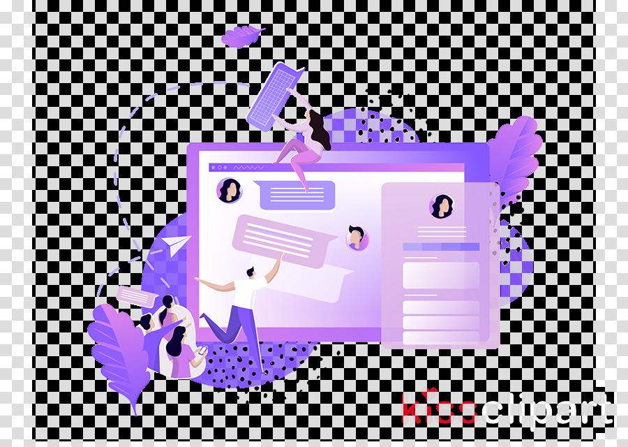 Download violet purple line clip art.
