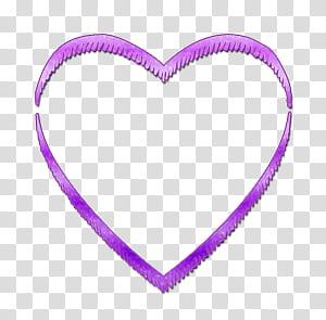 Purple line illustration transparent background PNG clipart.