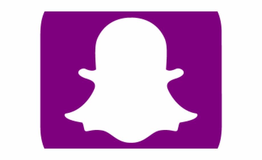 Snapchat Clipart Purple Snapchat Logo Azul Png.