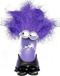 Purple Minion Clipart.