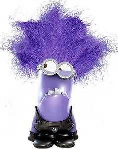 Purple Minion Clipart.