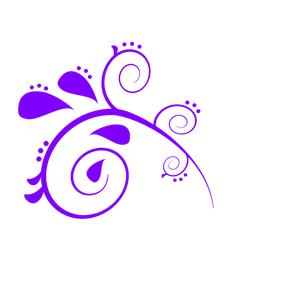 Purple Swirl Paisley clipart, cliparts of Purple Swirl.