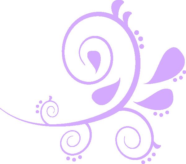Paisley Curves Purple Clip Art at Clker.com.