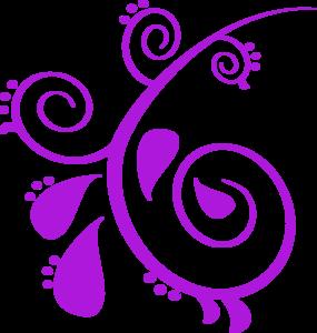 Purple Paisley Clip Art at Clker.com.